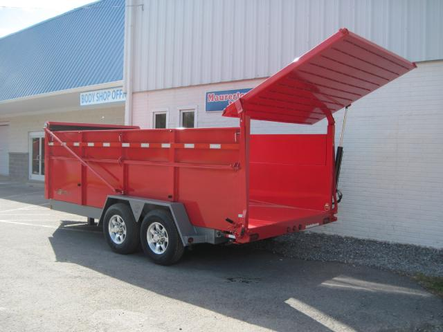 2019 BWise Ultimate Dump Trailer 82x16 15k
