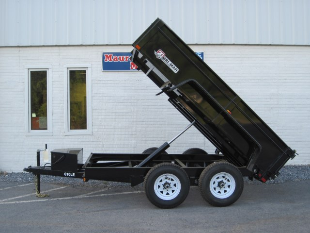 2019 Bri-Mar Low Profile Dump Trailer 6x10 10k LE- $145 for 48 months