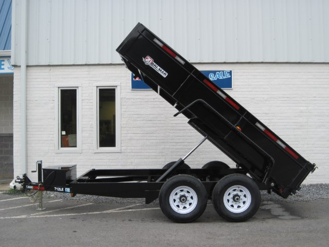 2019 Bri-Mar Low Profile Dump Trailer 7x12 12k-$167 for 48 months