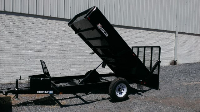 2019 Bri-Mar Low Profile Dump Trailer Landscape Gate 5x10 5k- $99 for 48 months