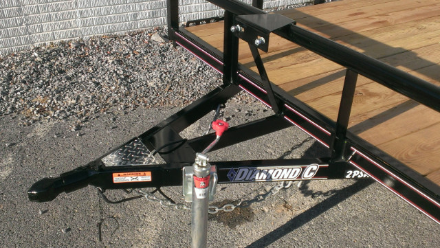 2019 Diamond C Utility Trailer 83x12 Pipe Top 3k- $65 for 36 months