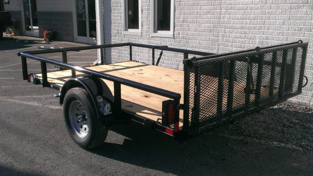 2019 Diamond C Utility Trailer 77x10 Pipe Top 3k- $60 for 36 months