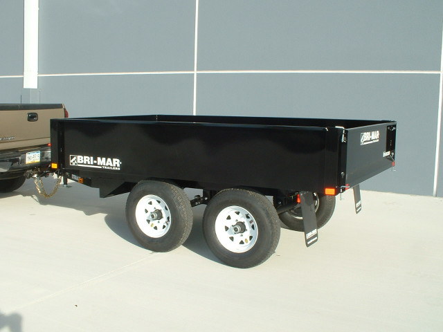 2020 Bri-Mar Rascal Dump Trailer 6x10 10k- $114 for 48 months