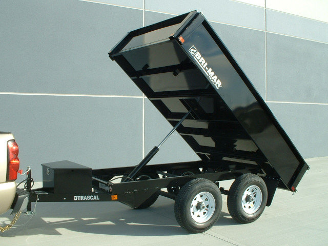 2019 Bri-Mar Rascal Dump Trailer 6x10 10k- $114 for 48 months