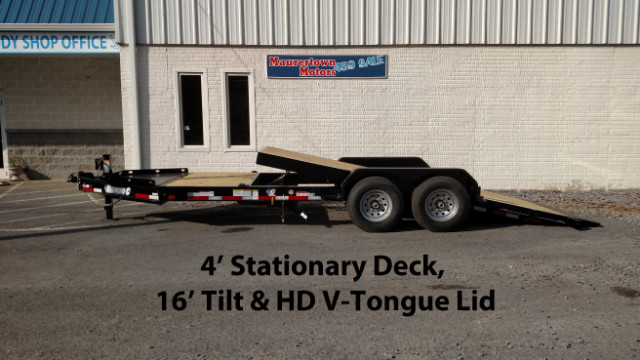 2019 Diamond C Tilt Equipment Trailer HD I-Beam 82x20 15k GVW- $175 for 48 months