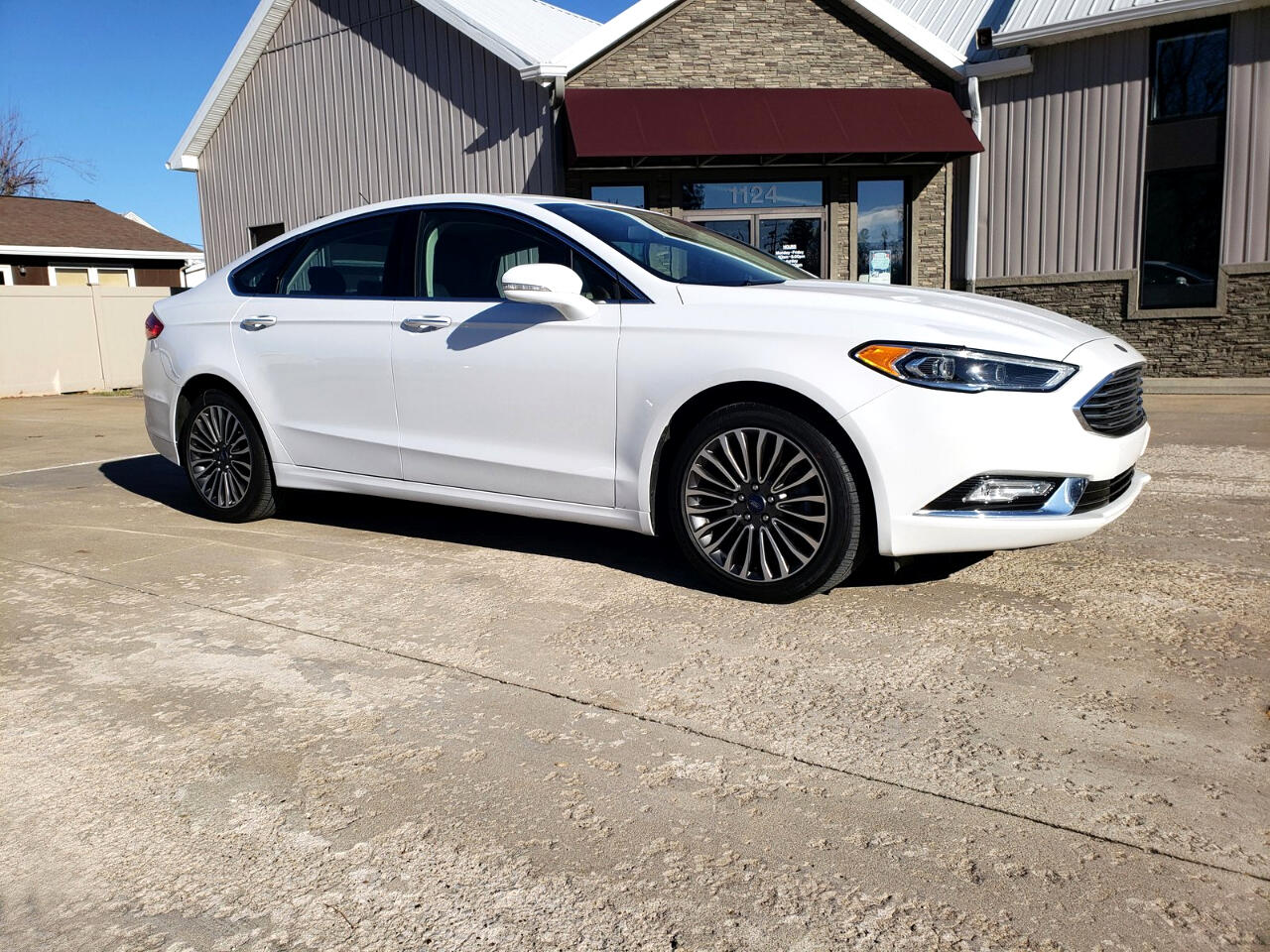 2017 Ford Fusion SE Luxury AWD