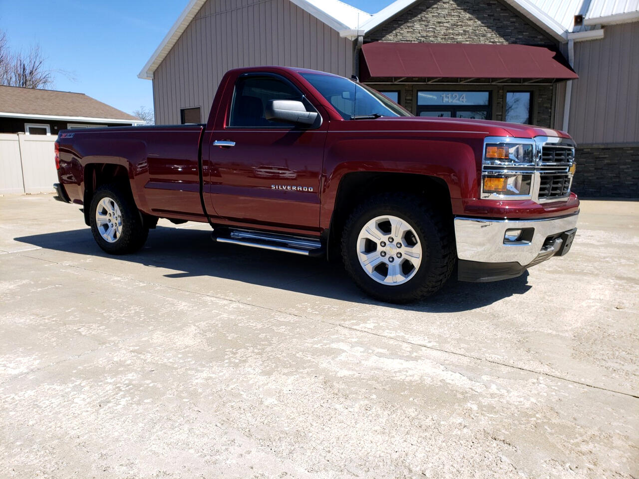 2014 Chevrolet Silverado 1500 LT Regular Cab Long Bed 4WD