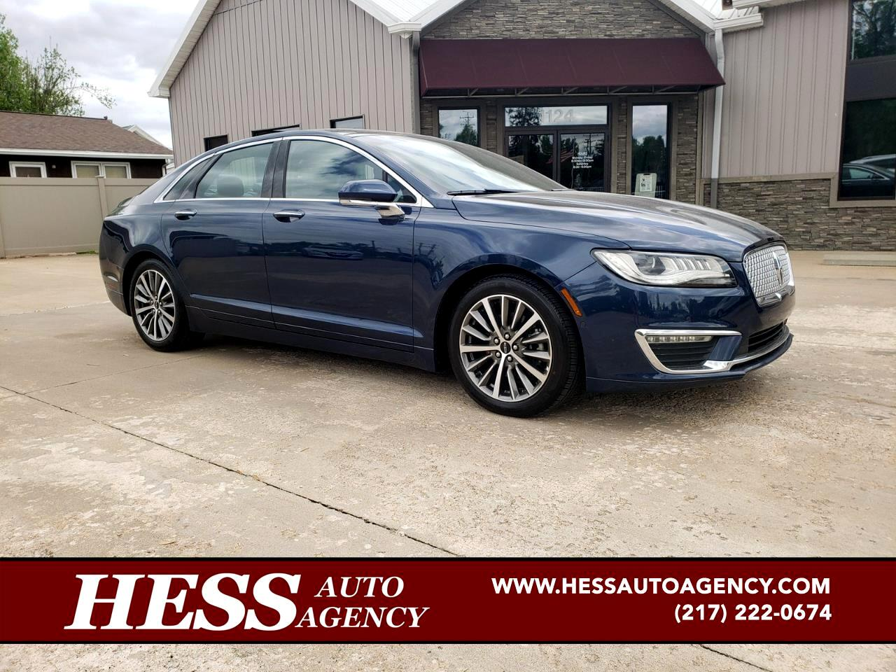 2017 Lincoln MKZ Select Plus