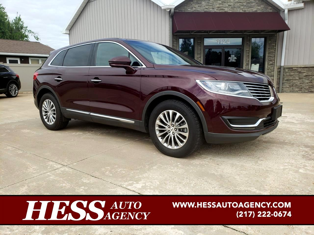 2017 Lincoln MKX Select Plus AWD