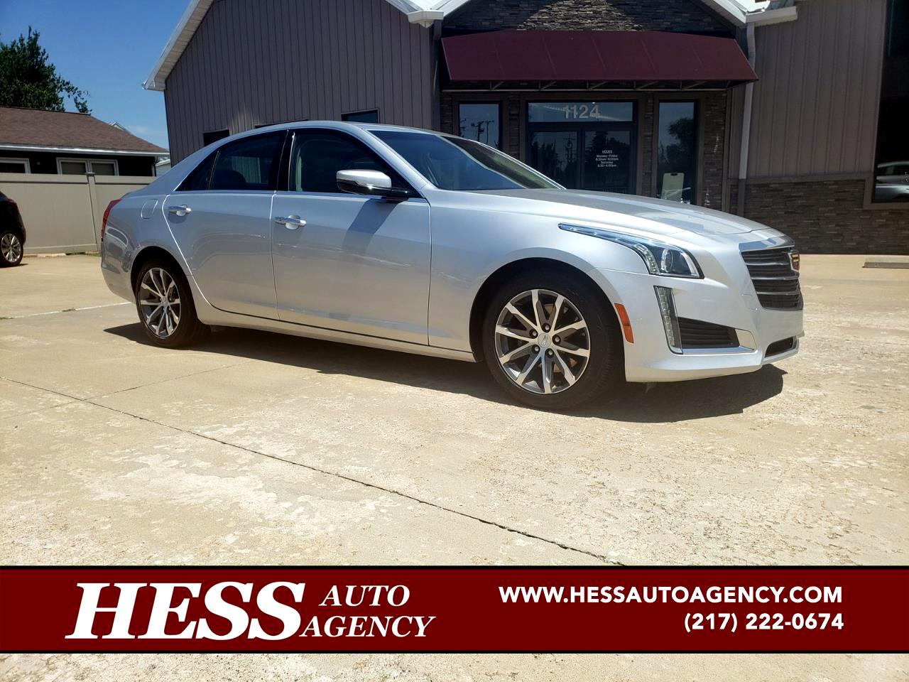 2016 Cadillac CTS 2.0L Turbo Luxury AWD