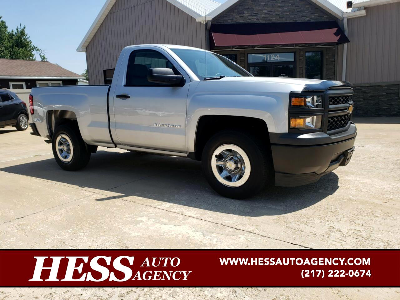 2014 Chevrolet Silverado 1500 Work Truck Regular Cab 2WD