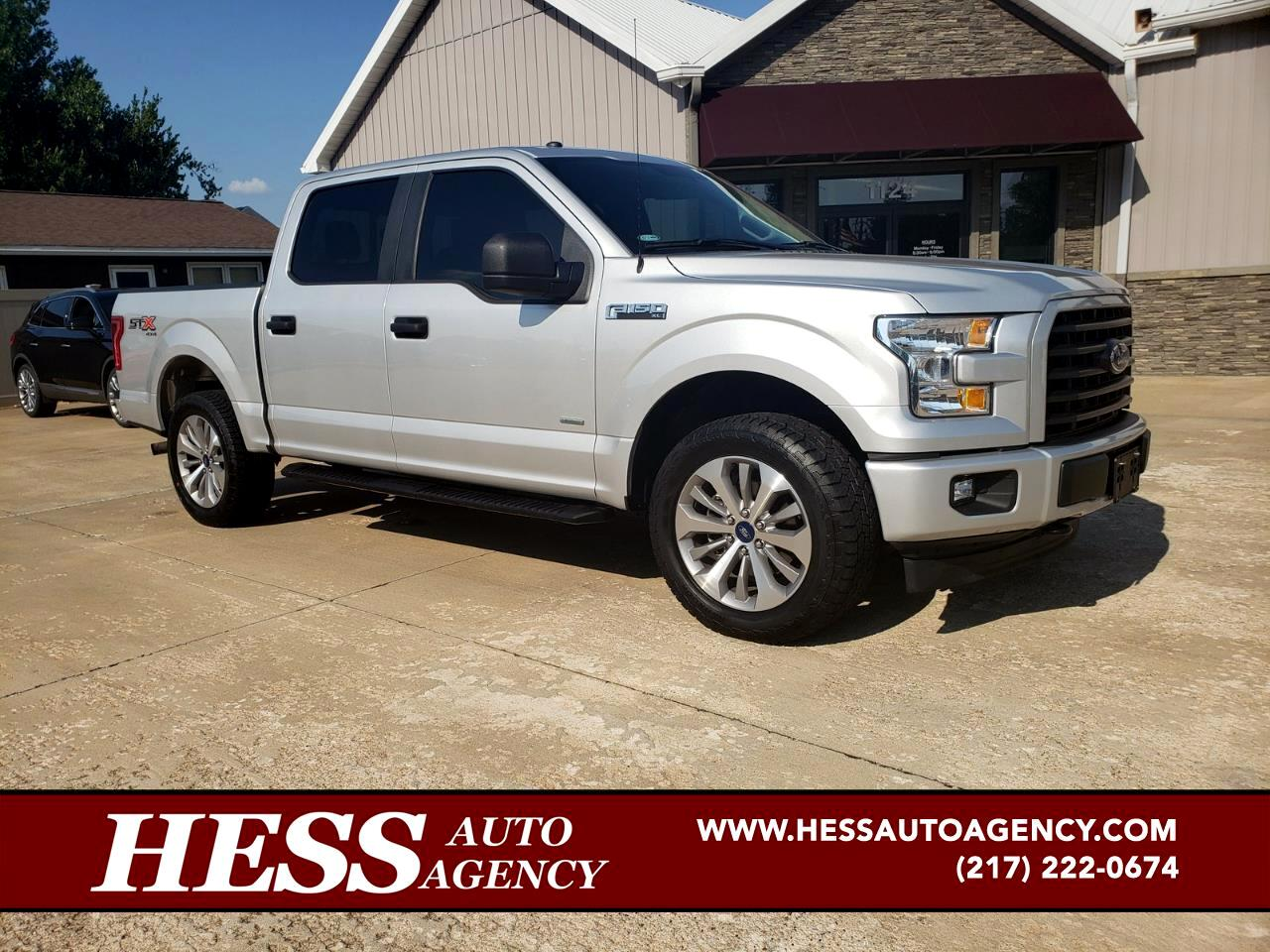 2017 Ford F-150 XL STX Sport SuperCrew 4WD