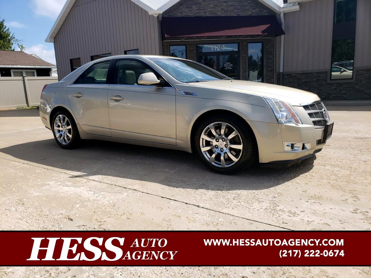 2008 Cadillac CTS Luxury AWD