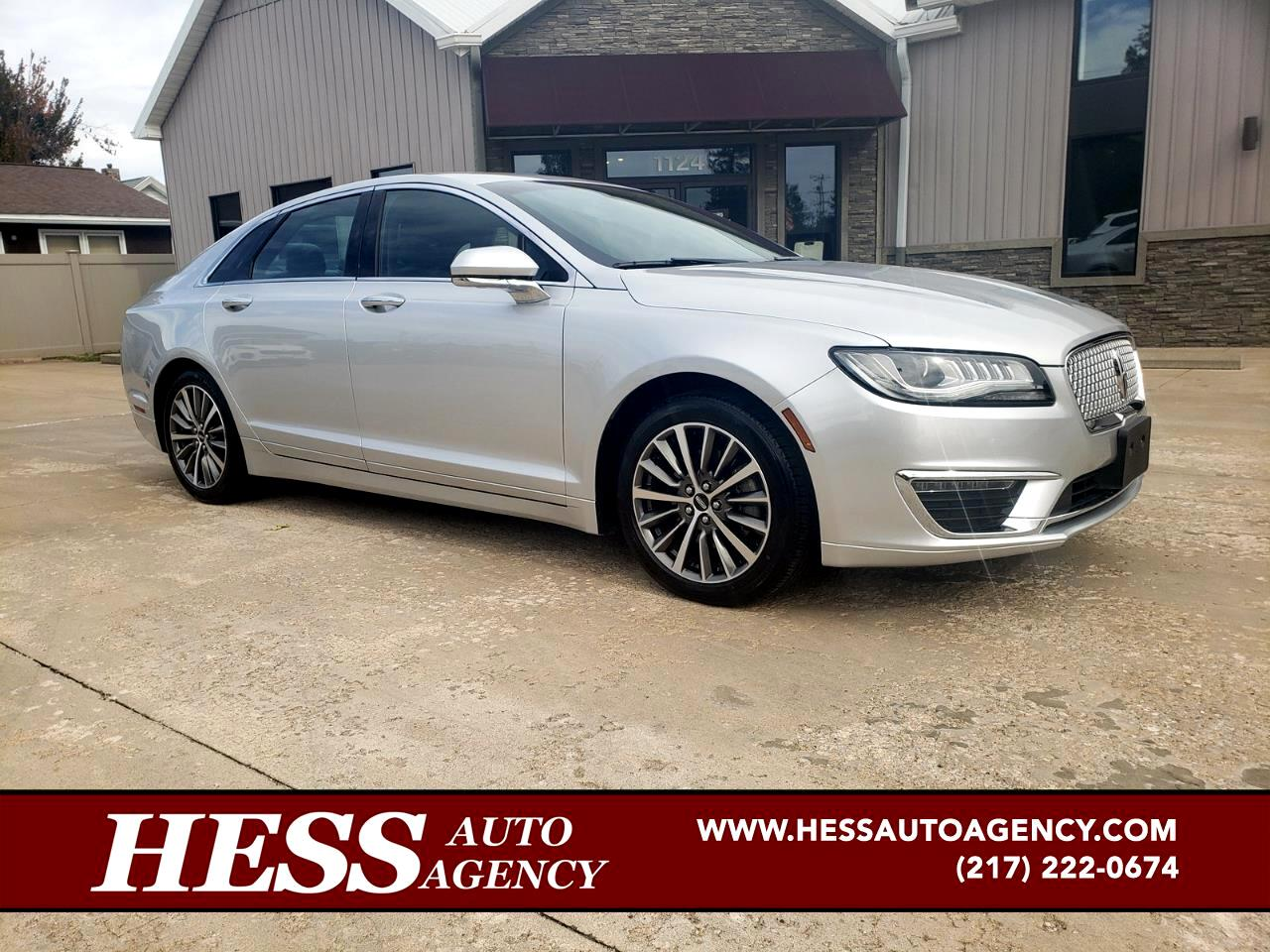 2017 Lincoln MKZ Select+