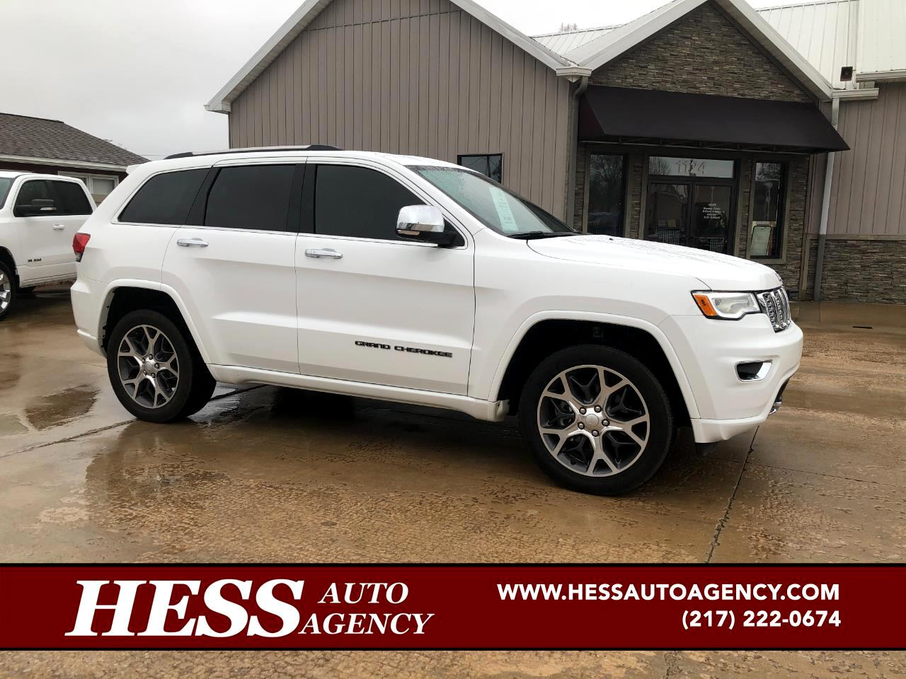 Jeep Grand Cherokee Overland 4WD 2019