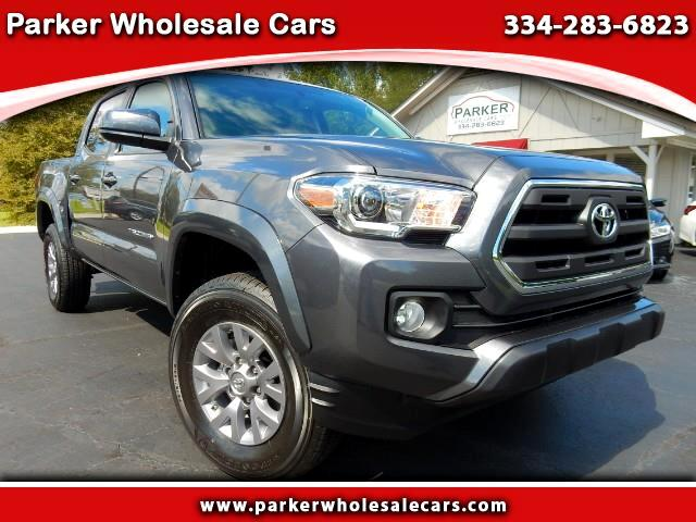2017 Toyota Tacoma SR5 Double Cab Short Bed V6 6AT 2WD