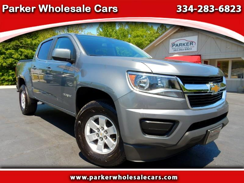 2018 Chevrolet Colorado Work Truck Crew Cab 4WD Short Box