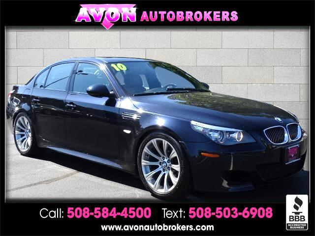 2010 BMW M5 4dr Sdn