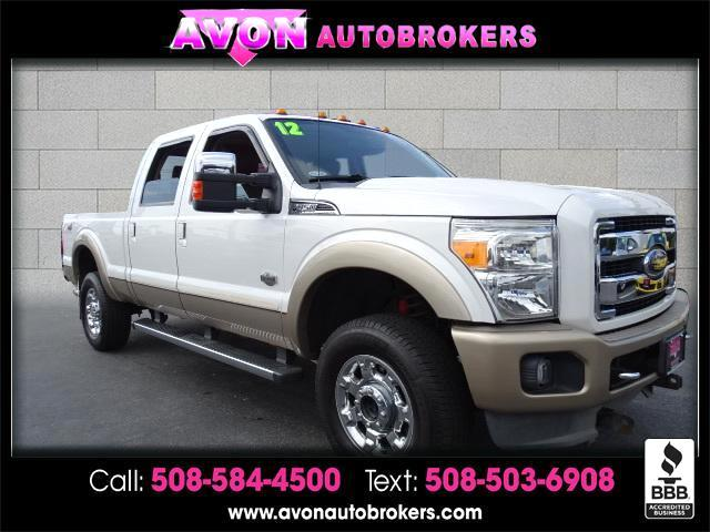 2012 Ford F-350 SD King Ranch
