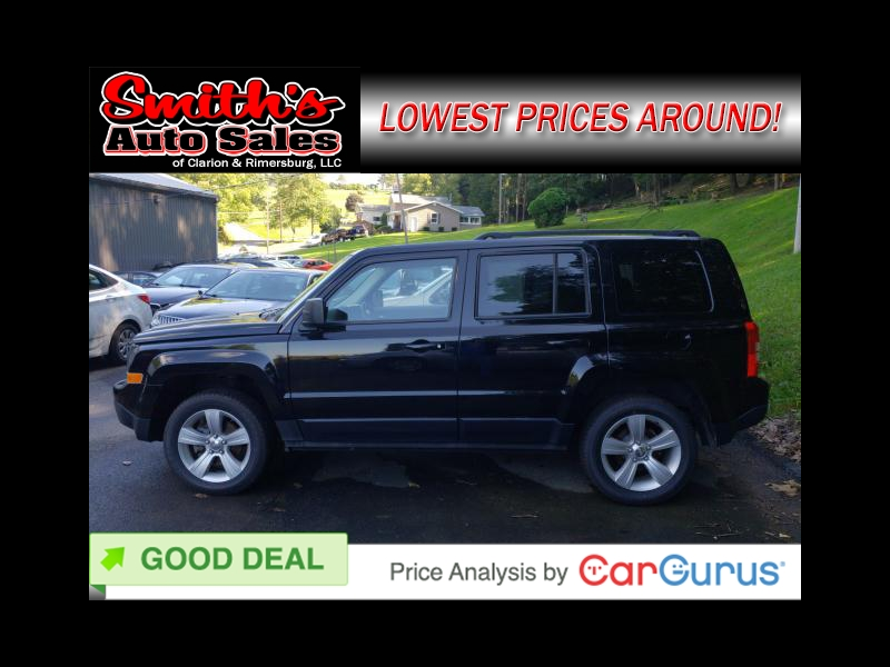 2014 Jeep Patriot LATITUDE 4WD 35k miles