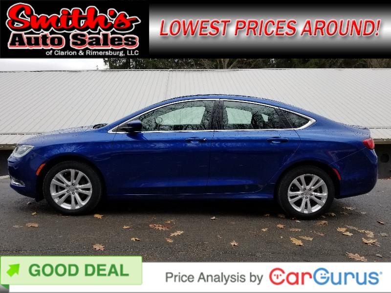 2015 Chrysler 200 LIMITED FWD 50k miles