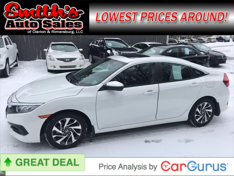 2016 Honda Civic Sedan EX 22k miles