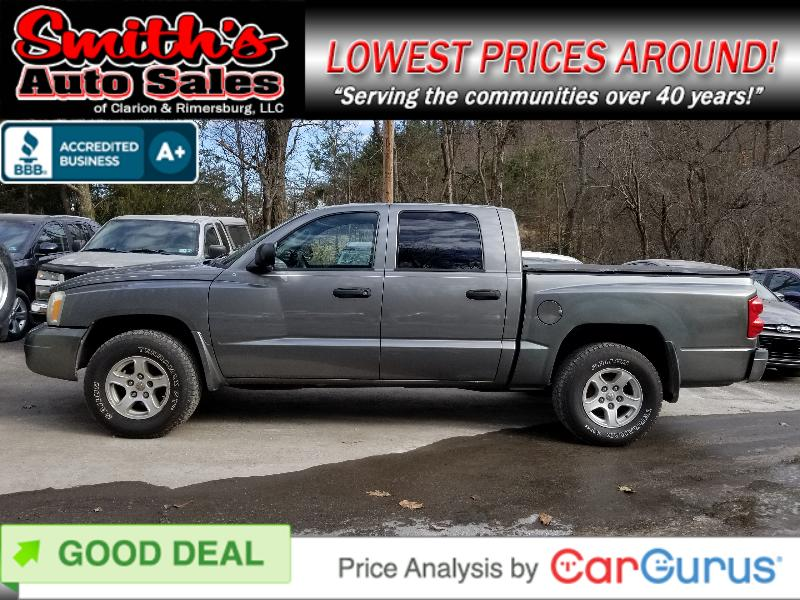 2006 Dodge Dakota QUAD CAB SLT 4WD 52k miles