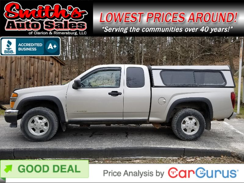 2005 Chevrolet Colorado Ext Cab 4WD 52k miles