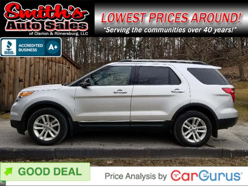 2011 Ford Explorer XLT 4WD (3RD ROW) 102k miles