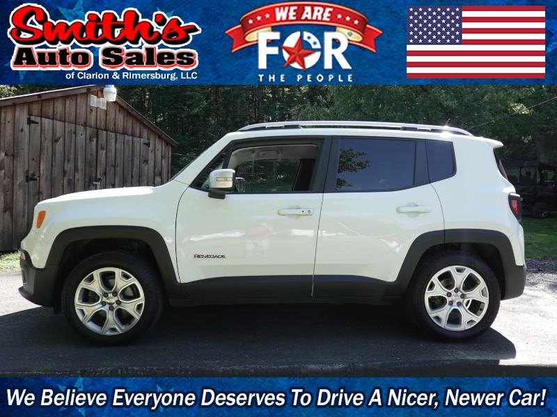 2015 Jeep Renegade LIMITED 4WD 39k miles