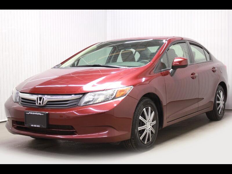 2012 Honda Civic LX Sedan 5-Speed AT