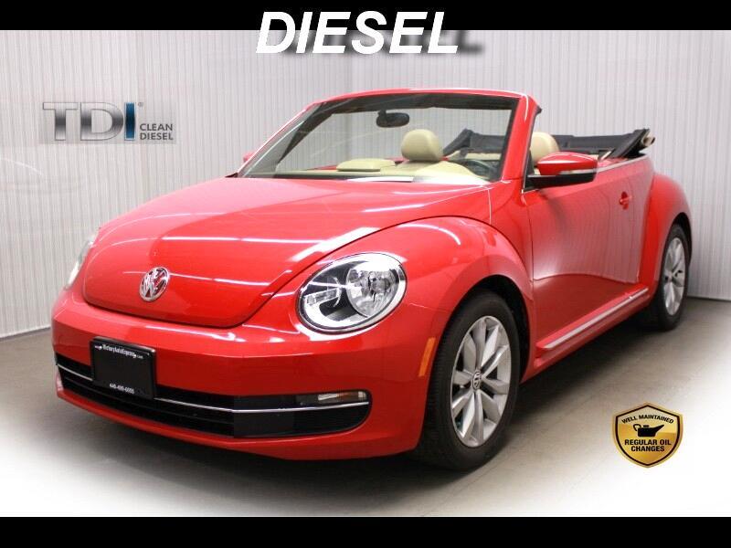 2013 Volkswagen Beetle Convertible 2dr Man 2.0L TDI w/Sound/Nav