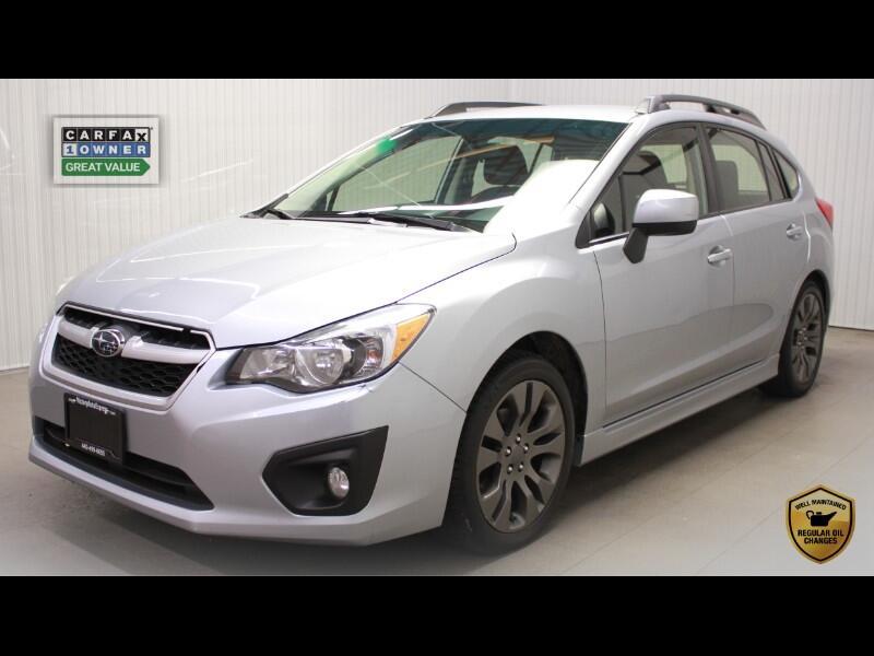 2012 Subaru Impreza 2.0i Sport 5M 4-Door
