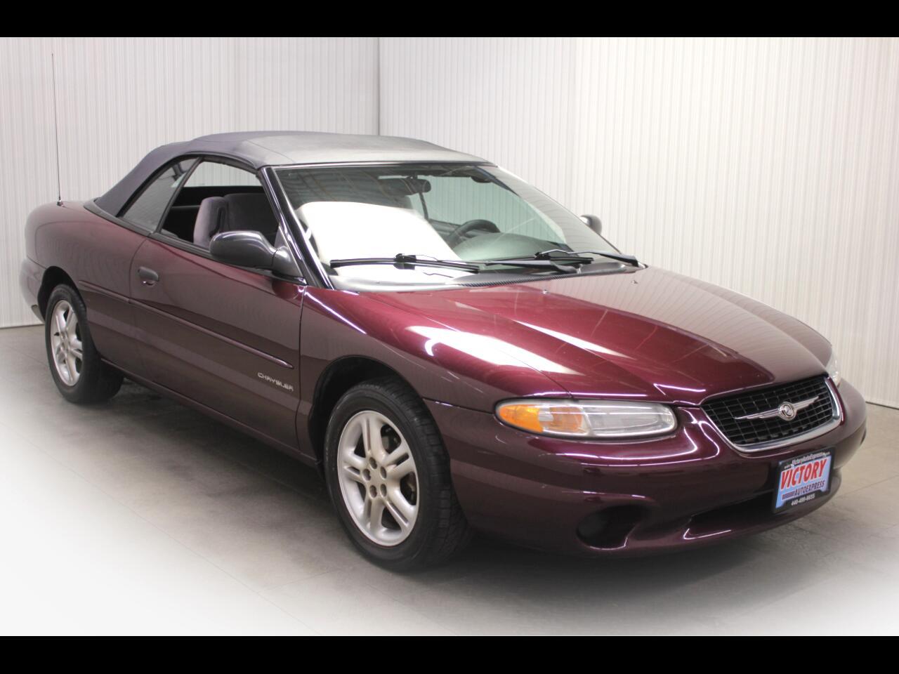 Chrysler Sebring Conv  2000