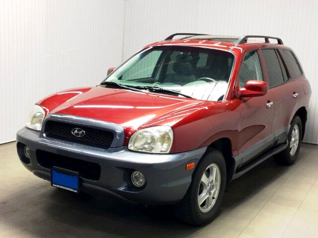 2003 Hyundai Santa Fe GLS 3.5L 4WD