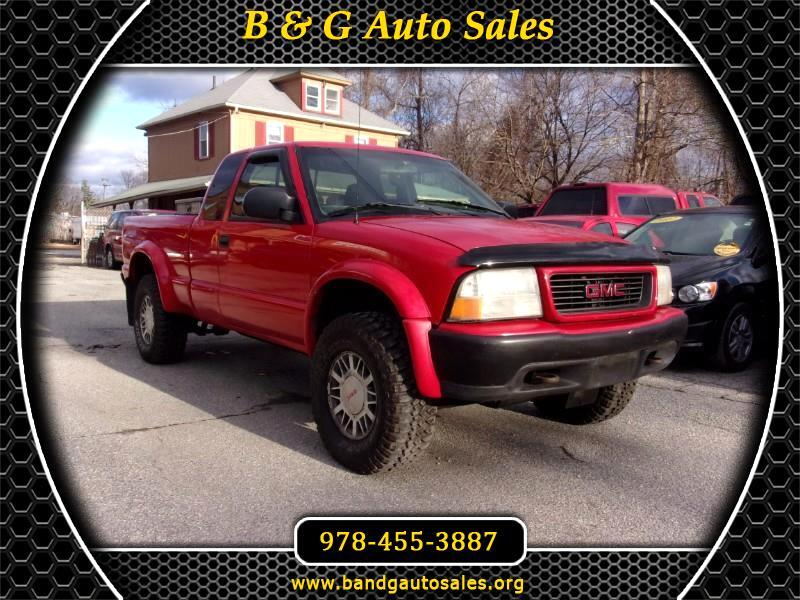 GMC Sonoma SL Ext. Cab Short Bed 4WD 2000
