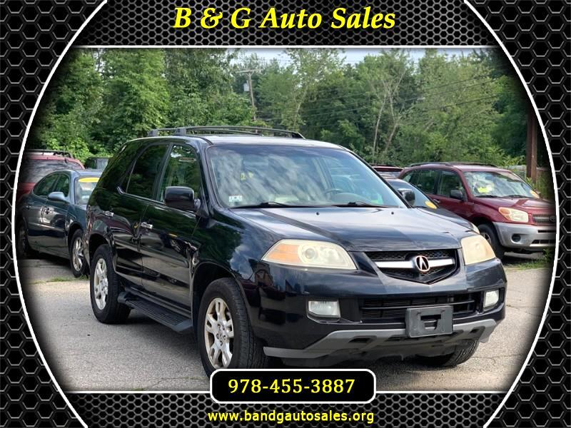 Acura MDX Touring with Navigation System and Rear DVD System 2004