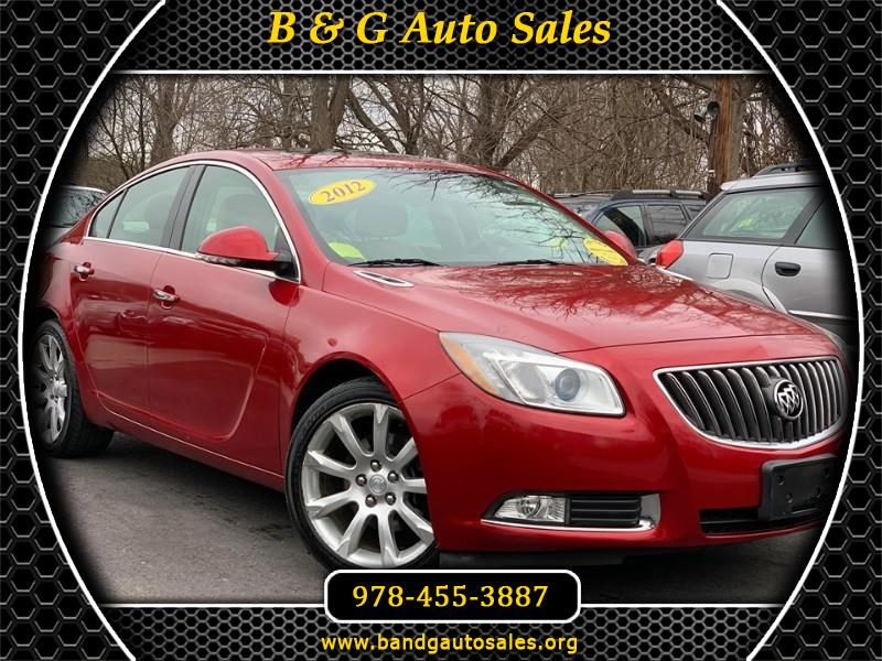 Buick Regal Turbo Premium 3 2012