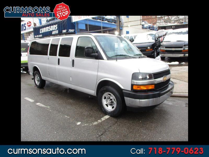 2018 Chevrolet Express LT 3500 Extended