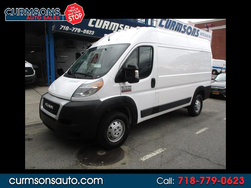 2019 RAM Promaster 2500 High Roof Tradesman 136-in. WB