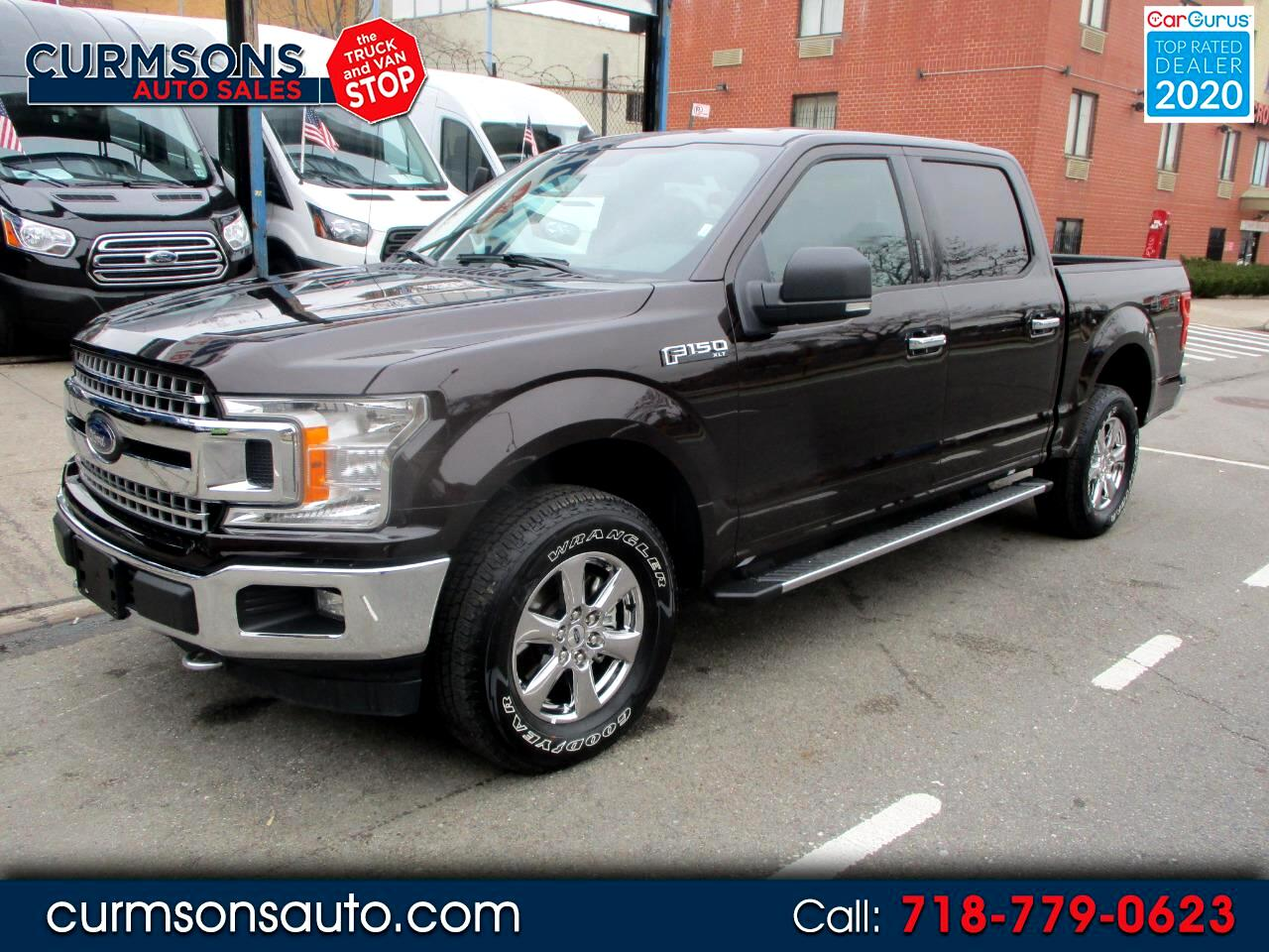 "Ford F-150 4WD SuperCab 163"" XLT 2019"
