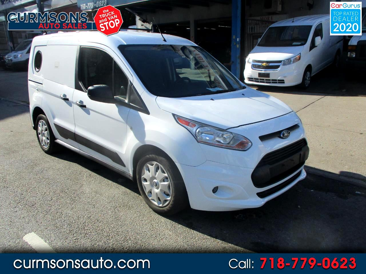 Ford Transit Connect Van XLT SWB w/Rear Symmetrical Doors 2017