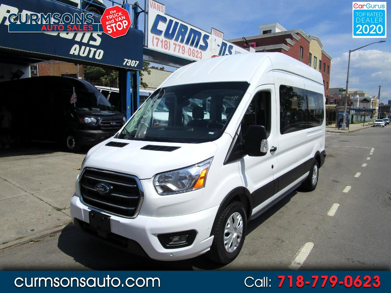 "Ford Transit Passenger Wagon T-350 148"" High Roof XLT RWD 2020"