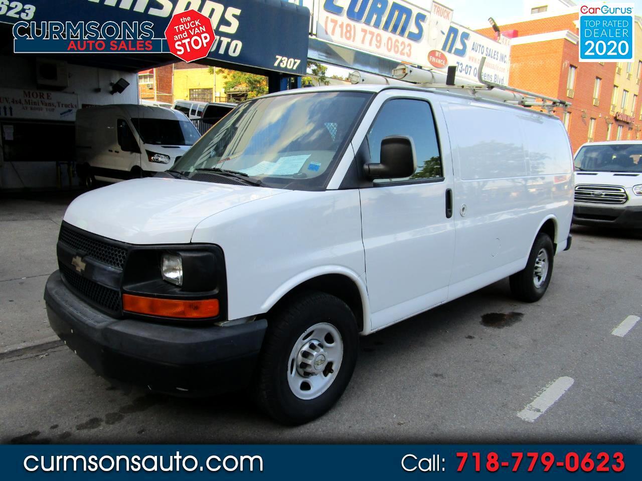"""Chevrolet Express Cargo Van RWD 2500 135"""" 2011"""