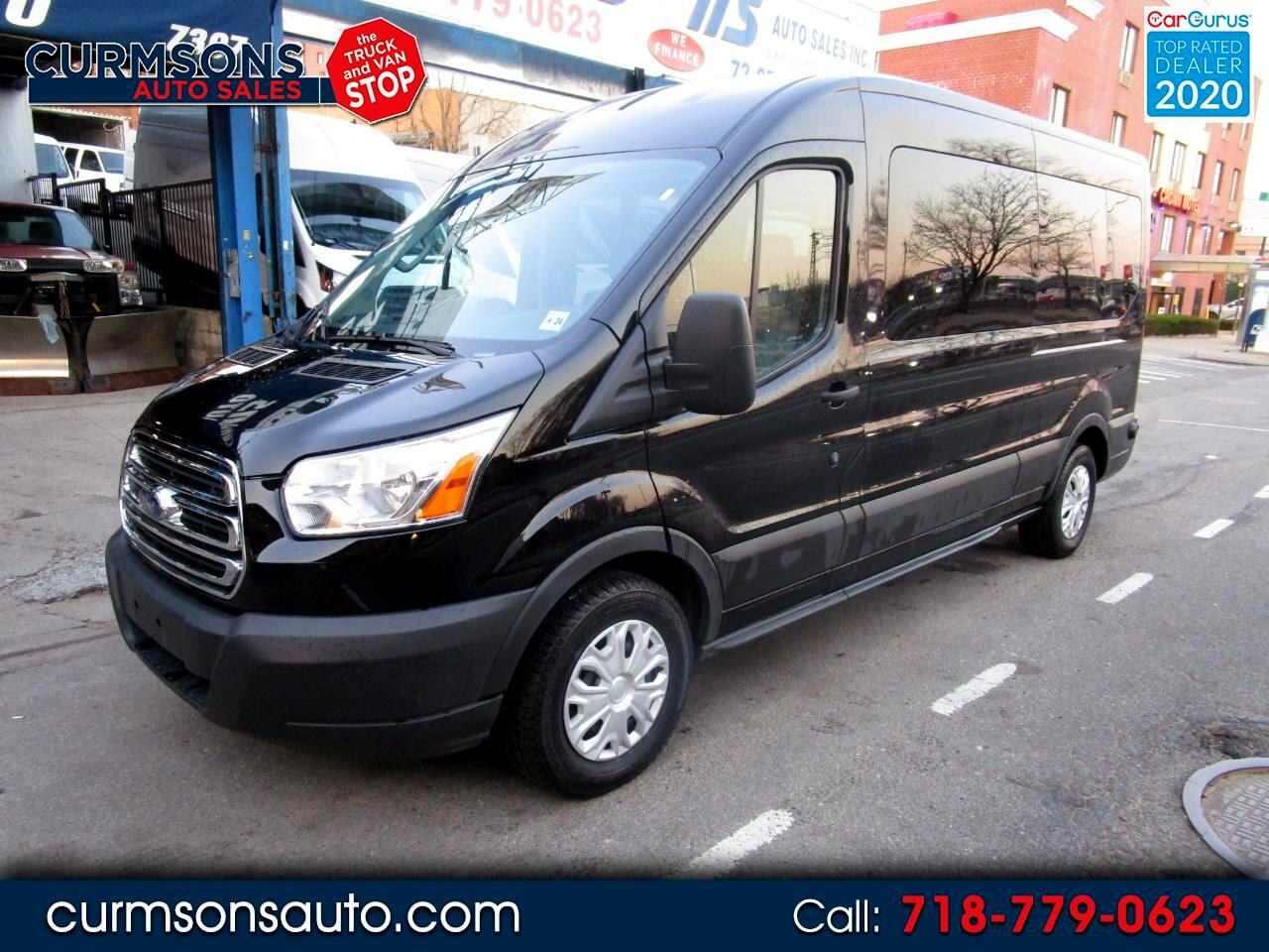 """Ford Transit Passenger Wagon T-350 148"""" Med Roof XLT Sliding RH Dr 2019"""
