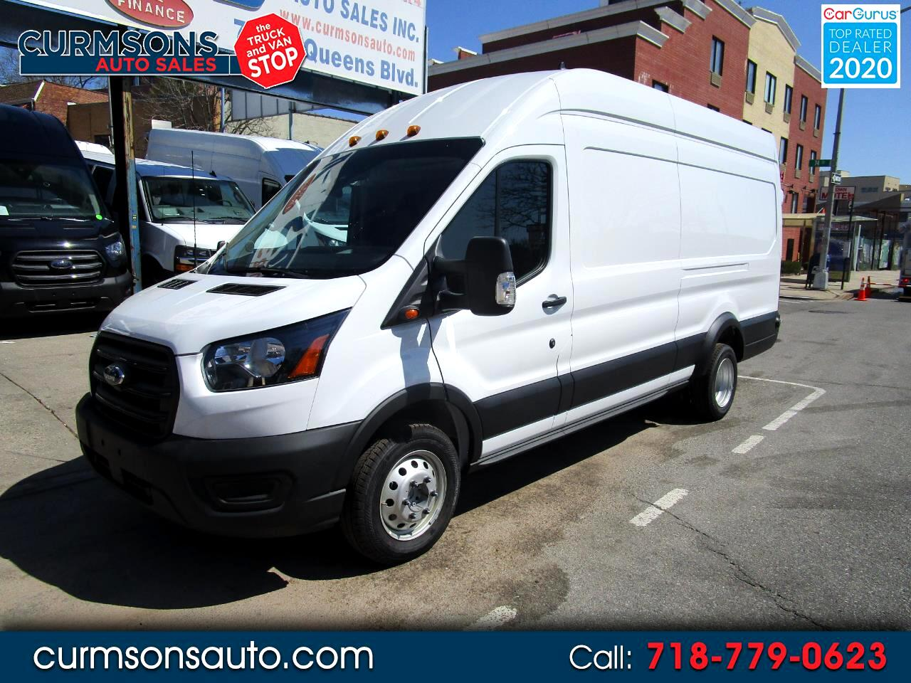 "Ford Transit Cargo Van T-350 HD 148"" EL Hi Rf 9950 GVWR DRW RWD 2020"