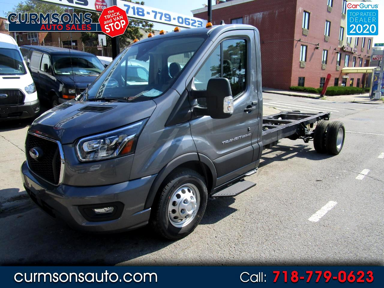 """Ford Transit Chassis T-350 RWD DRW 138"""" WB 11000 GVWR 2021"""