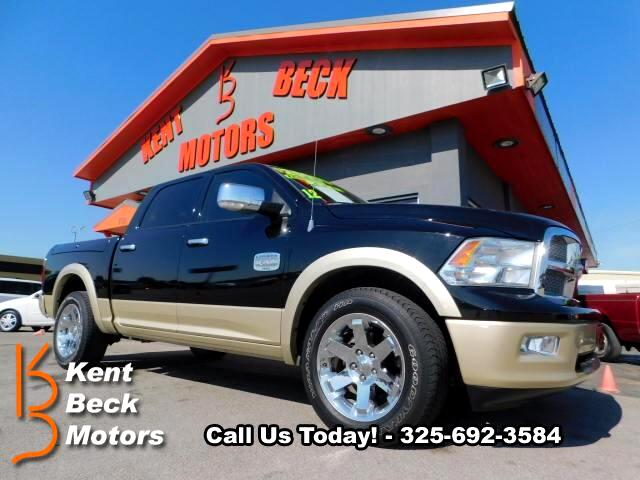 2012 RAM 1500 Laramie Longhorn Edition Crew Cab 4WD