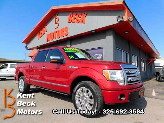 2010 Ford F-150 Platinum SuperCrew 5.5-ft bed 2WD