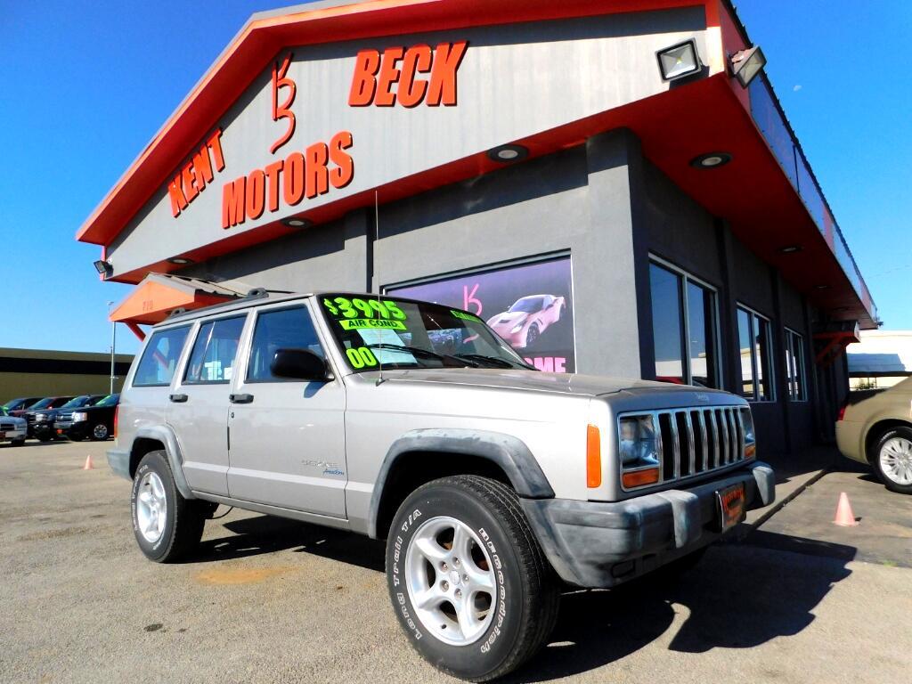 2000 Jeep Cherokee Sport 4-Door 2WD